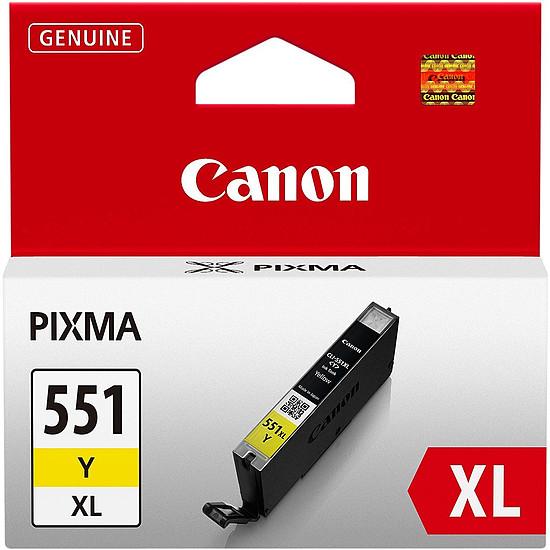 Cartouche imprimante Canon CLI-551 Jaune XL