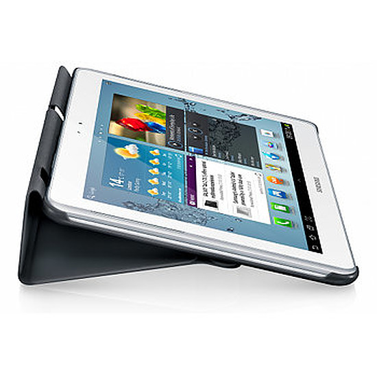 """Accessoires tablette tactile Samsung Book Cover pour Samsung Galaxy Tab 2 10.1"""" - Gris"""