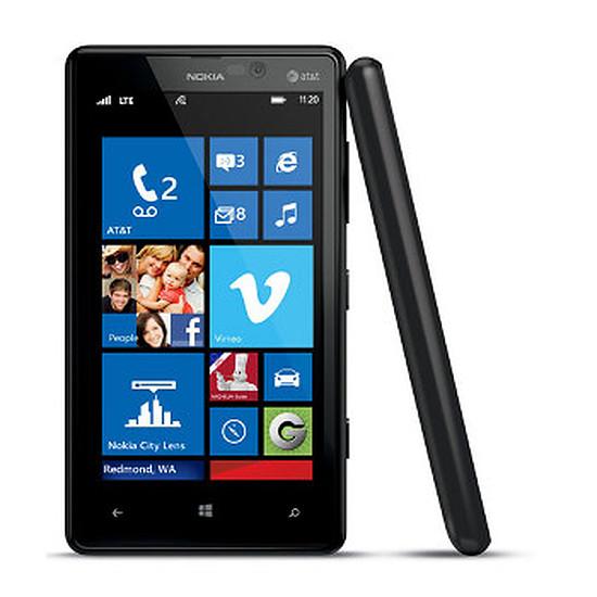 Smartphone et téléphone mobile Nokia Lumia 820 (noir)