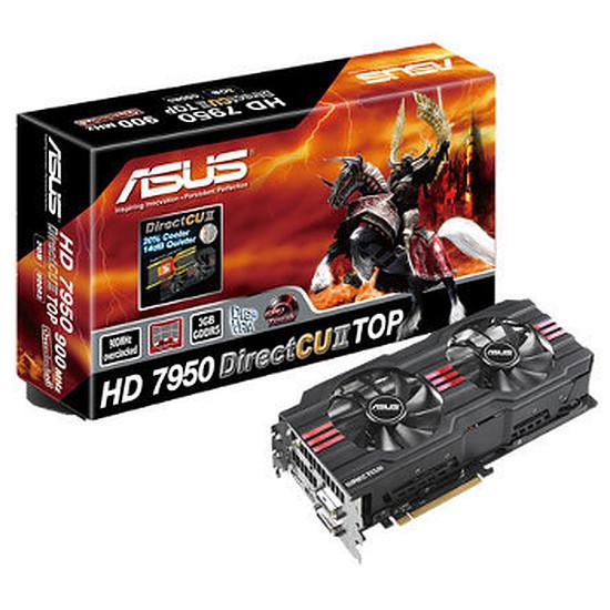 Carte graphique Asus Radeon HD 7950 DC2 3 Go - TOP