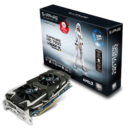 Carte graphique Sapphire Radeon HD 7950 Vapor-X - OC With Boost - 3 Go