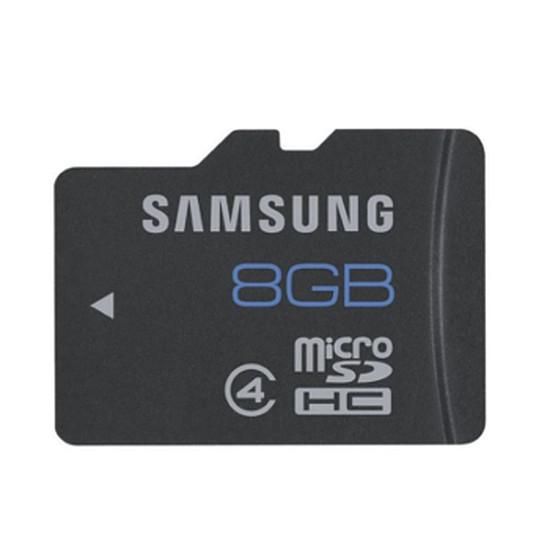 Carte mémoire Samsung Micro SDHC 8 Go Standard (Classe 4)