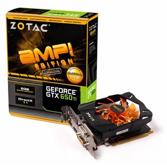 Carte graphique Zotac GeForce GTX 650 Ti AMP Edition - 2 Go