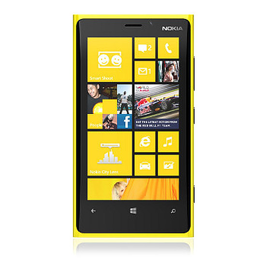 Smartphone et téléphone mobile Nokia Lumia 920 (jaune)