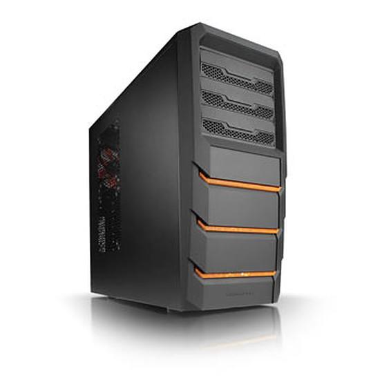 Boîtier PC Xigmatek Alfar - Noir / Orange