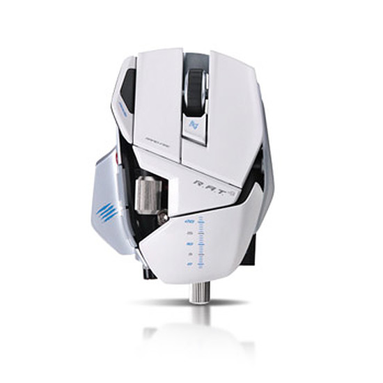 Souris PC Mad Catz R.A.T.9 - Blanc