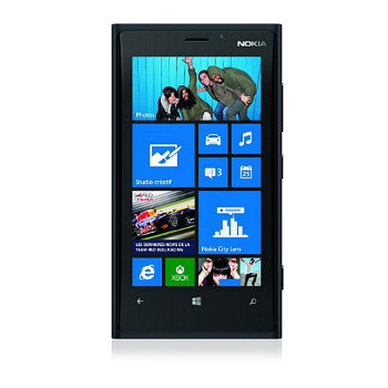 Smartphone et téléphone mobile Nokia Lumia 920 (noir)