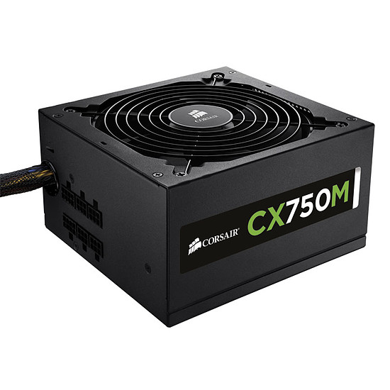 Alimentation PC Corsair CX750M - 750W