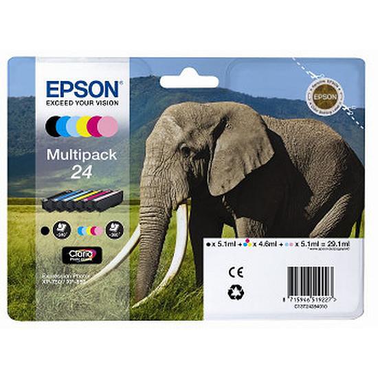 Cartouche imprimante Epson T2428 Multipack 6 couleurs - C13T24284010