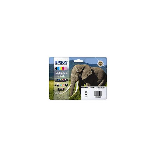 Cartouche imprimante Epson T2438 XL Multipack 6 couleurs - C13T24384011