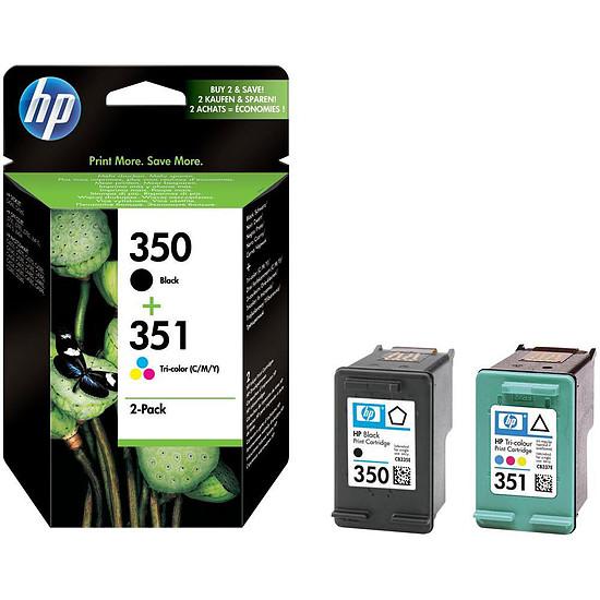 Cartouche imprimante HP Combo Pack n°350/351 (SD412EE) - Cartouche d'encre
