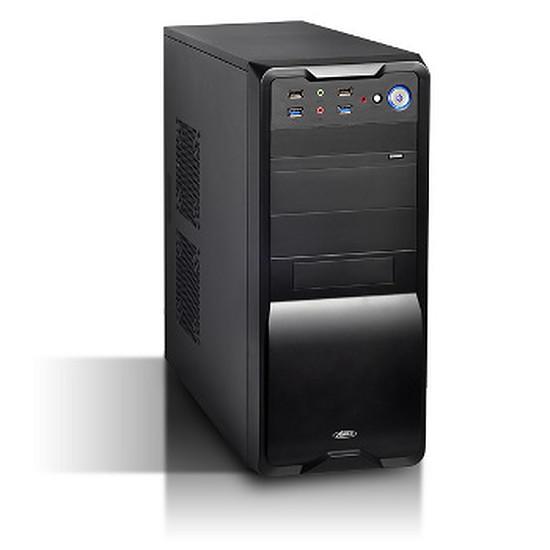 Boîtier PC Advance Black Burst + alimentation 480W