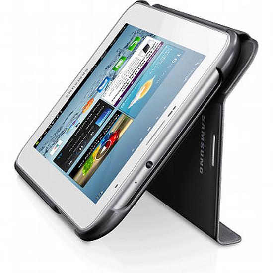 "Accessoires tablette tactile Samsung Étui Book Cover Samsung Galaxy Tab 2 7"" - Gris"