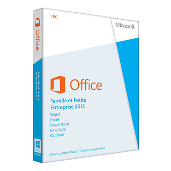Office Microsoft Office Famille et Petite Entreprise 2013 - 1 poste