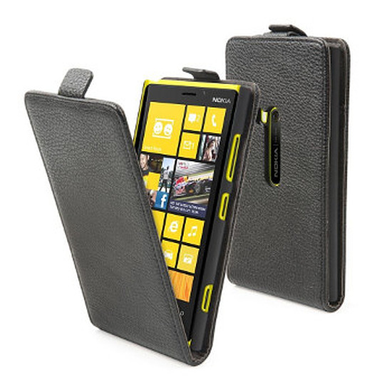 Coque et housse Muvit Etui slim + film de protection pour Lumia 920