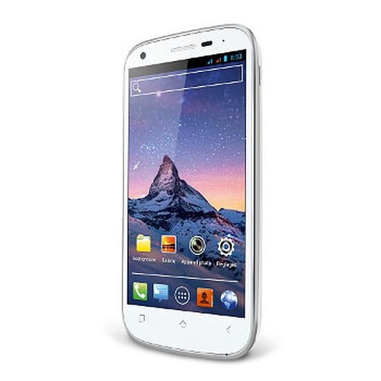 Smartphone et téléphone mobile Wiko Cink Peax (blanc)