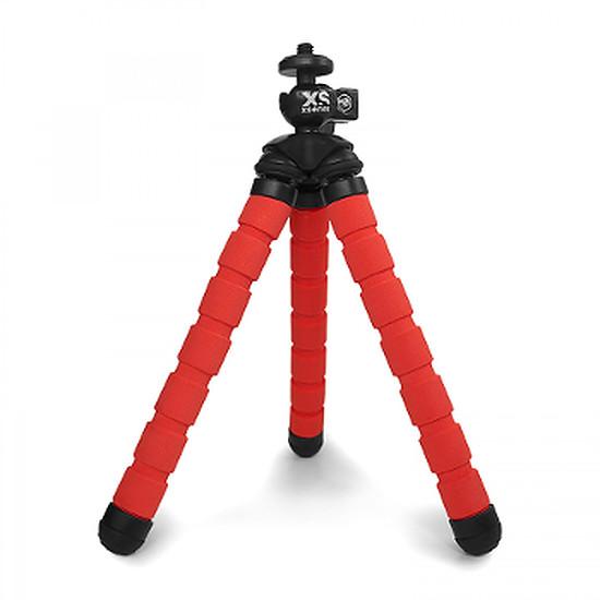 Trépied appareil photo XSories Trépied 18cm - Bendy Rouge