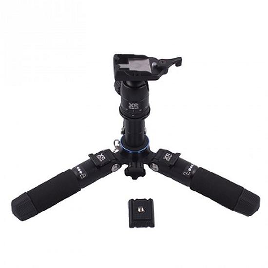 Trépied appareil photo XSories Mini trépied 12 à 41cm - Trifold Pro Noir