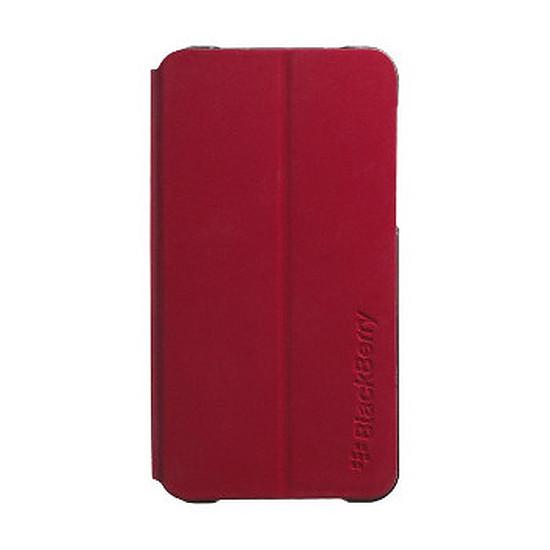Coque et housse BlackBerry Etui flip shell (rouge) - Z10