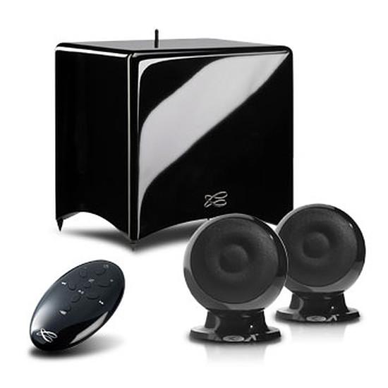 Système Audio Multiroom Cabasse Enceintes home cinéma Stream 3 Noir