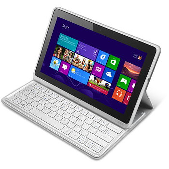 Tablette Acer Iconia Tab W700P - i3 - 64Go + Housse clavier BT