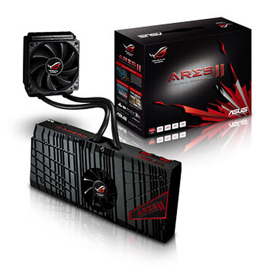 Carte graphique Asus ROG ARES II - 6 Go (ARES2-6GD5)
