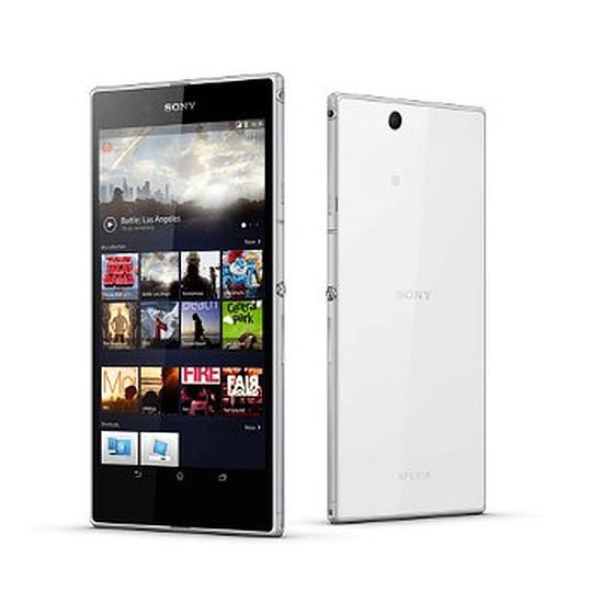 Smartphone et téléphone mobile Sony Mobile Xperia Z Ultra (Blanc)