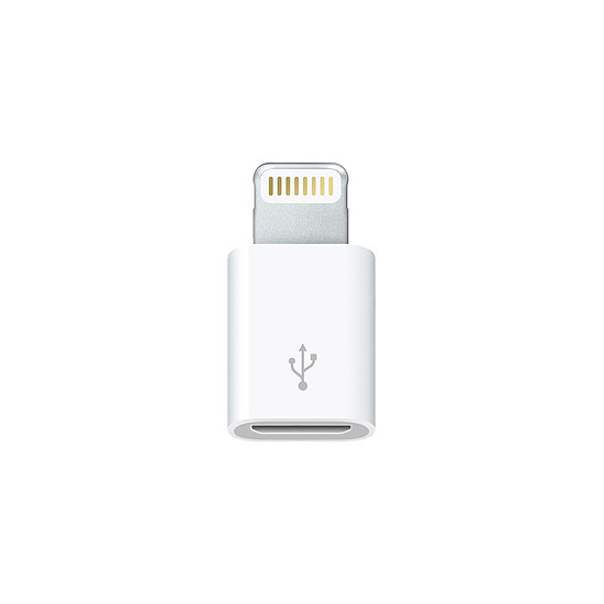 Adaptateurs et câbles Apple Adaptateur Lightning vers Micro-USB