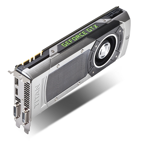 Carte graphique Gainward GeForce GTX TITAN - 6 Go  (426018336-2845)
