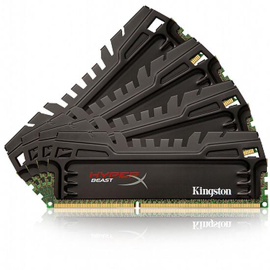 Mémoire Kingston Kit DDR3 4 x 4 Go 1600 MHz HyperX BEAST CAS 9