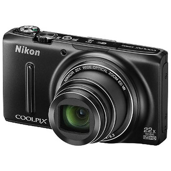 Appareil photo compact ou bridge Nikon Coolpix S9500 Noir