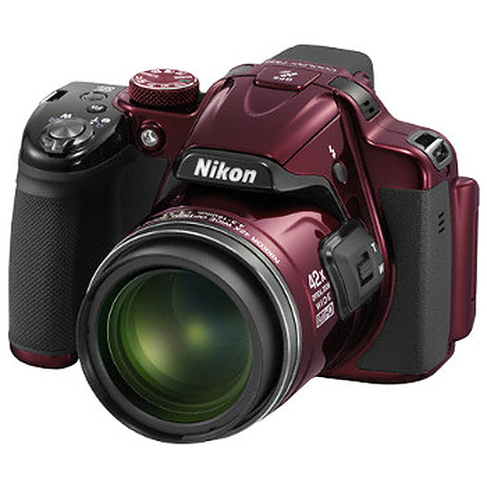 Appareil photo compact ou bridge Nikon Coolpix P520 Rouge
