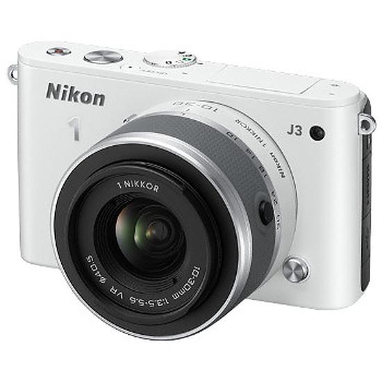 Appareil photo Reflex Nikon 1 J3 + 10-30 mm Blanc