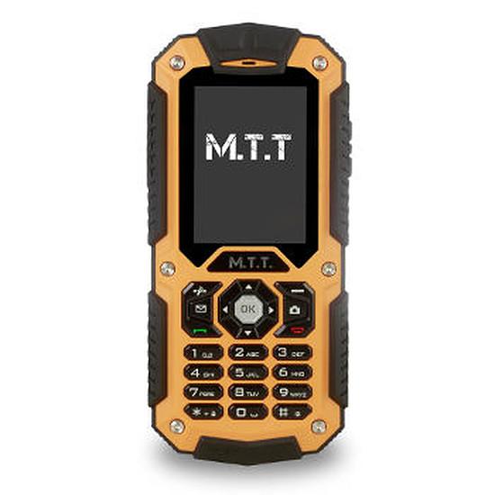 Smartphone et téléphone mobile MTT Protection (noir/orange)