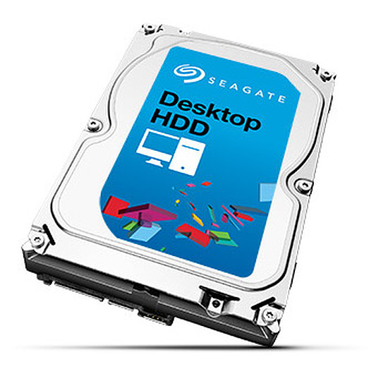 Disque dur interne Seagate Desktop HDD - SATA III 6 Gb/s - 4 To