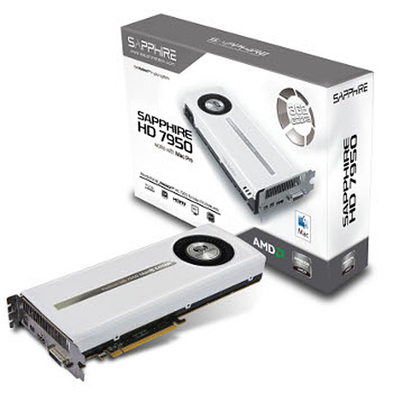 Carte graphique Sapphire Radeon HD 7950 - 3 Go - MAC Edition