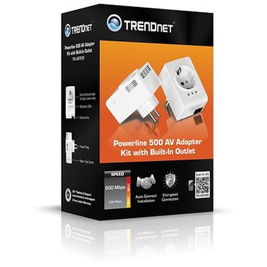 CPL TrendNet Pack deux CPL TPL-407E (TPL-407E2K)