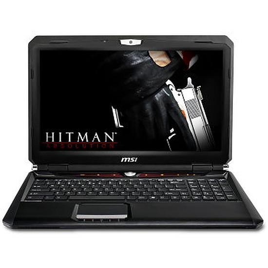 PC portable MSI GX60 3AE-212FR - Hitman Edition