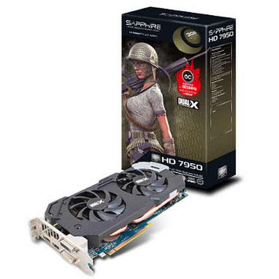 Carte graphique Sapphire Radeon HD 7950 with Boost - 3 Go