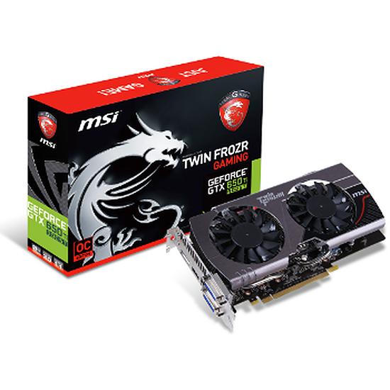 Carte graphique MSI GeForce GTX 650 Ti Boost OC - Twin Frozr 3 - 2 Go