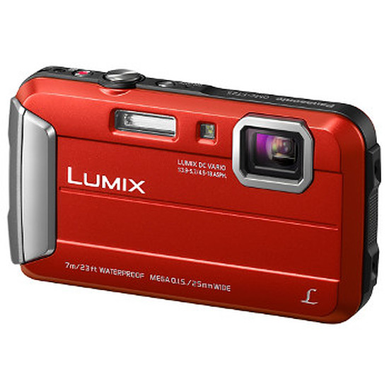 Appareil photo compact ou bridge Panasonic Lumix DMC-FT25 Rouge