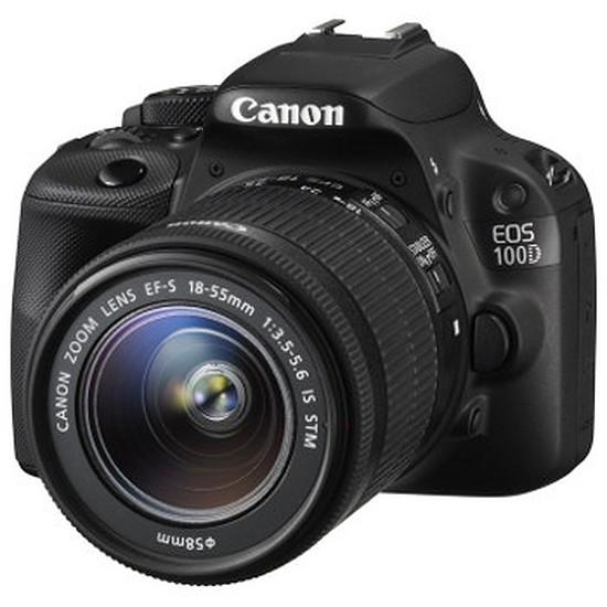 Appareil photo Reflex Canon EOS 100D + EF-S 18-55 IS STM