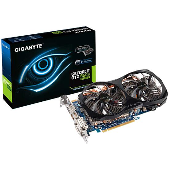 Carte graphique Gigabyte GeForce GTX 650 Ti Boost OC - 2 Go