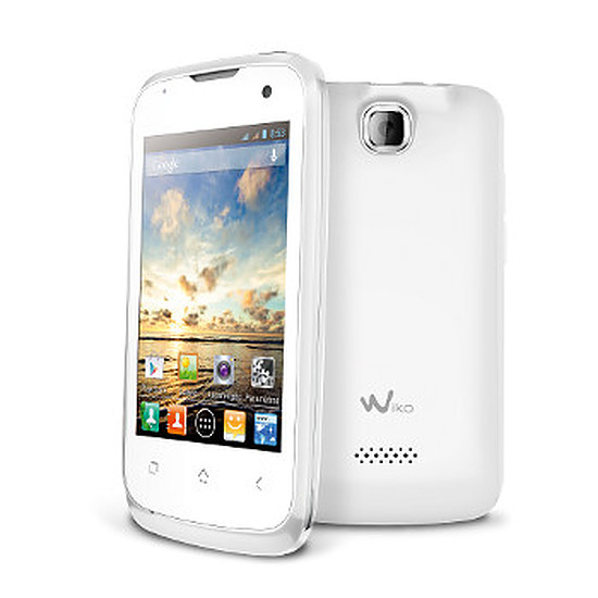 Smartphone et téléphone mobile Wiko Cink Plus (blanc)