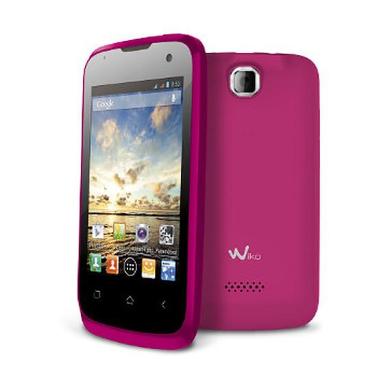 Smartphone et téléphone mobile Wiko Cink Plus (rose)