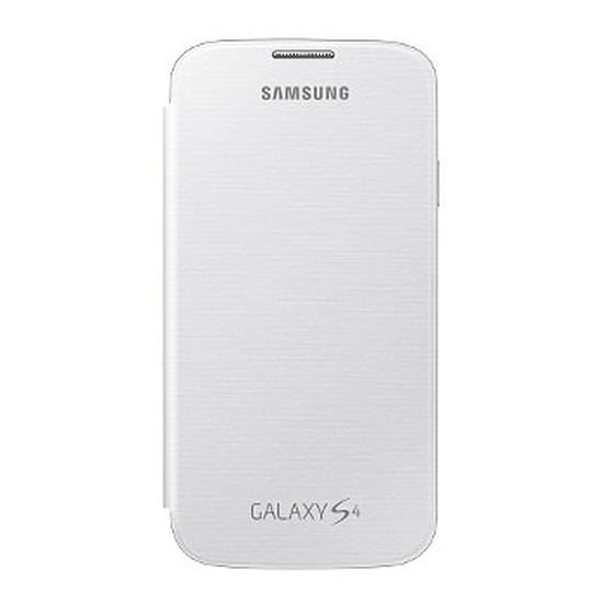 Coque et housse Samsung Etui Flip Cover (blanc) - Galaxy S4