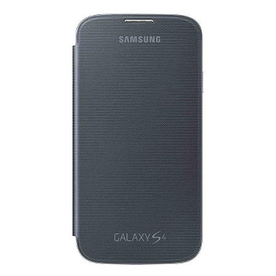 Coque et housse Samsung Etui Flip Cover (noir) - Galaxy S4