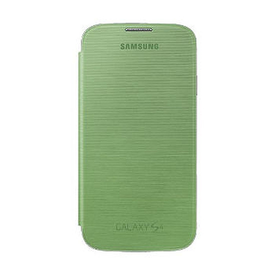 Coque et housse Samsung Etui Flip Cover (vert) - Galaxy S4
