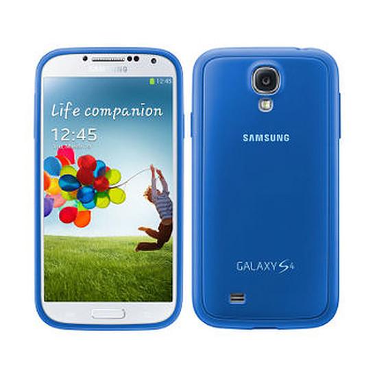 Coque et housse Samsung Coque Cover + (bleu) - Galaxy S4