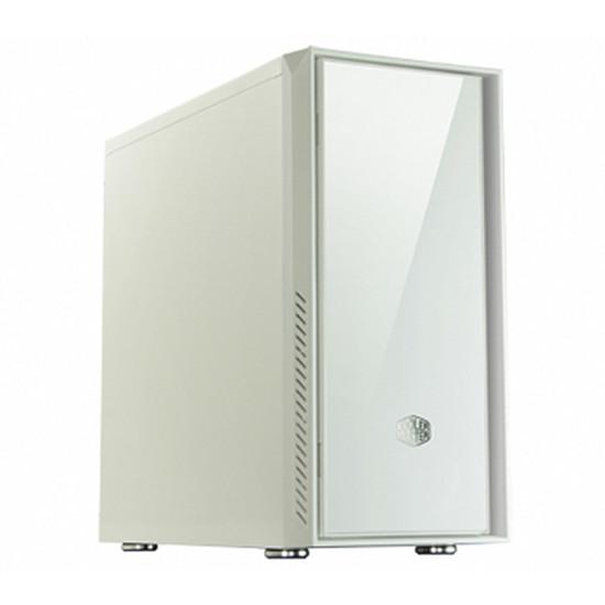 Boîtier PC Cooler Master Silencio 550 - Blanc